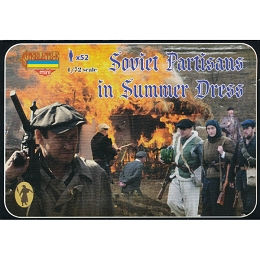 1/72 WW II Soviet Partisans in Summer Dress (STR)