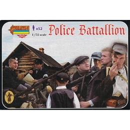 1/72 WW II German Police Batallion (STR)