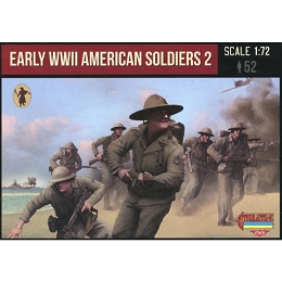 1/72 WW II Early American Soldiers 2 (STR)