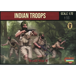 1/72 WW II Indian Troops (STR)