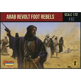 1/72 WWI Arab Revolt Foot Rebels (STR)