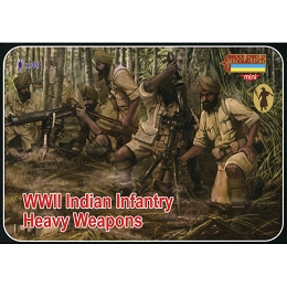 1/72 WW II Indian Infantry Heavy Weapons (STR)
