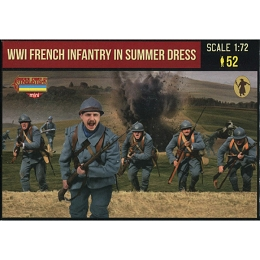 1/72 WWI French Infantry in Summer Dress (STR)