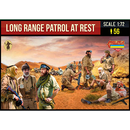 1/72 WWII - Long Range Patrol at Rest (STR)