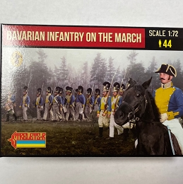 1/72 Napoleonic Bavarian Infantry on the March (STR)