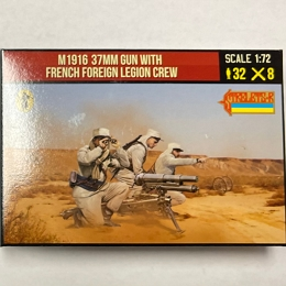 1/72 Rif War - M1916 37mm Gun with French Foreign Legion Crew (STR)