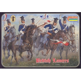 1/72 Crimean War British Lancers (STR)