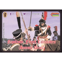 1/72 Napoleonic French Cuirassiers in Summer Dress (re-issue) (STR)