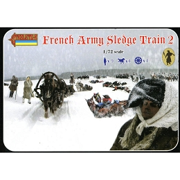 1/72 Napoleonic French Army Sledge Train 2 (STR)