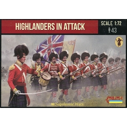 1/72 Napoleonic Highlanders in Attack (STR)
