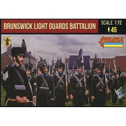 1/72 Napoleonic Brunswick Light Guards Battalion (STR)