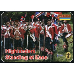 1/72 Napoleonic Highlanders Standing at Ease (STR)