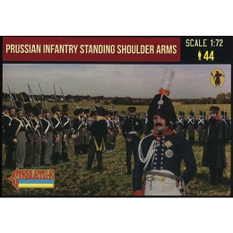 1/72 Napoleonic Prussian Infantry Standing Shoulder Arms (STR)