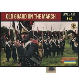 1/72 Napoleonic Old Guard on the March (STR)