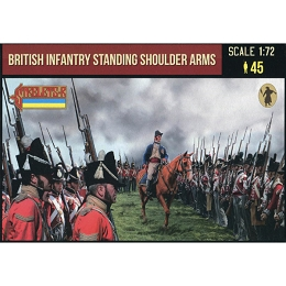 1/72 Napoleonic British Infantry Standing Shoulder Arms (STR)