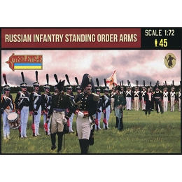 1/72 Napoleonic Russian Infantry Standing Order Arms (STR)