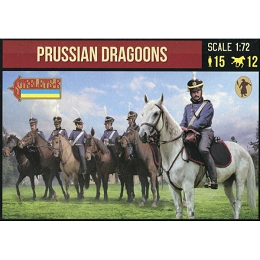 1/72 Napoleonic Prussian Dragoons (STR)