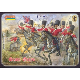 1/72 Crimean War Scots Greys (STR)