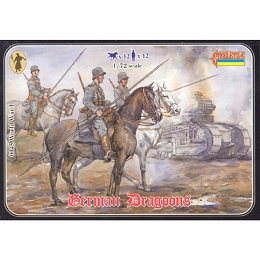 1/72 WWI German Dragoons (STR)