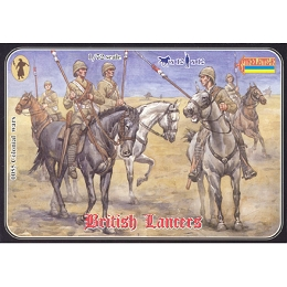 1/72 Boer War British Lancers (STR)