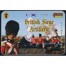 1/72 Crimean War British Siege Artillery (STR)