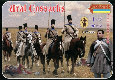 1/72 Crimean War Ural Cossacks (STR)