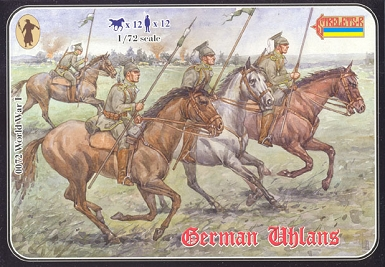 1/72 WWI  German Uhlans (STR)