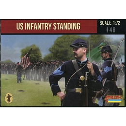 1/72 ACW US Infantry Standing (STR)