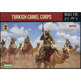 1/72 WW I Turkish Camel Corps (STR)
