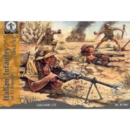 1/72 WW II Italian Infantry at El Alamein (WAT)