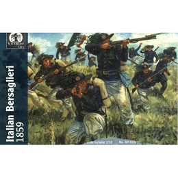1/72 Italian Wars of Independence Italian Infantry Bersaglieri 1848 - 70 (WAT)