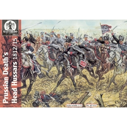 1/72 Napoleonic Prussian Hussars Of Dead 1813 - 15 (WAT)