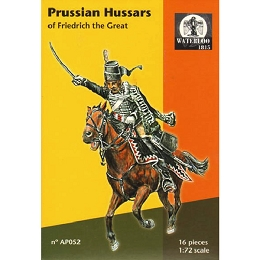 1/72 7 Years War Prussian Hussars of Frederick the Great (WAT)