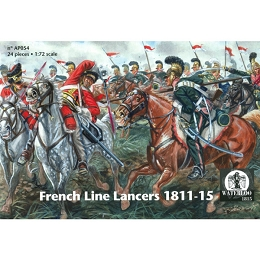 1/72 Napoleonic French Line Lancers 1812 - 15 (WAT)