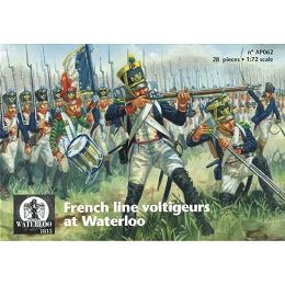 1/72 Napoleonic French Infantry 1815 Voltigeurs (WAT)