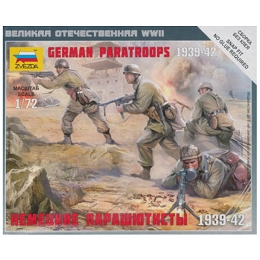 1/72 German Paratroopers Box (ZVE)