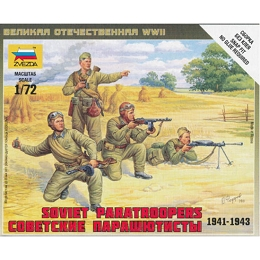 1/72 Soviet Paratroops Box (ZVE)
