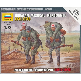 1/72 German Medical Personnel Box (ZVE)