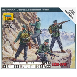 1/72 German Mountain Troops Box (Zvezda)