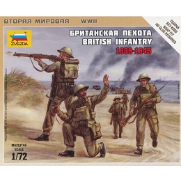 1/72 British Infantry 1939-45 Box (ZVE)