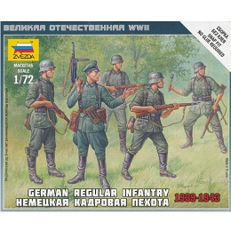 1/72 German Infantry 1939-43 Box (ZVE)