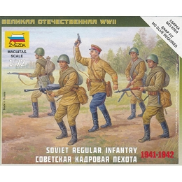 1/72 Soviet Regular Infantry Box (ZVE)