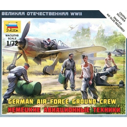 1/72 German AF Ground Crew Box (Zvezda)