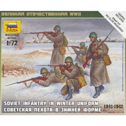 1/72 Soviet Inf. Winter Box (ZVE)
