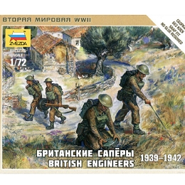 1/72 British Engineers 1939-42 Box (ZVE)