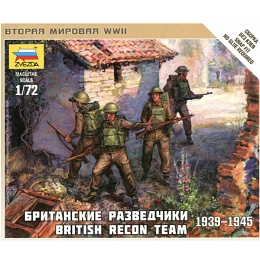 1/72 British Recon Team Box (ZVE)