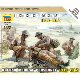 1/72 British Medical Personnel 1939-42 Box (ZVE)