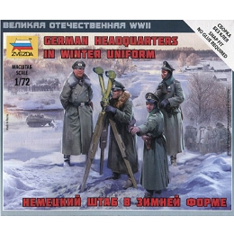 1/72 German Headquarters Crew-Winter Box (ZVE)