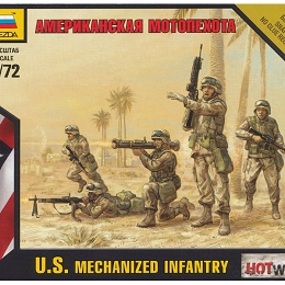 1/72 U.S. Mechanized Infantry Box (ZVE)