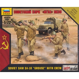 1/72 Soviet Modern SAM SA18 Grouse w/ Crew Box (Zvezda)